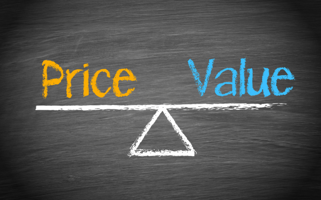 Determine the value of internal communications requires you to strike a balance between price and value